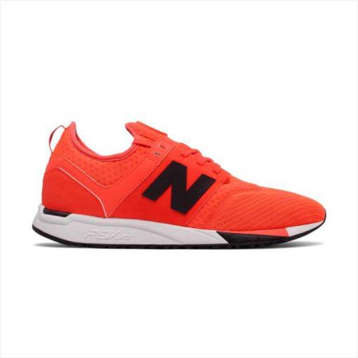 New Balance 247 оранженый сбоку