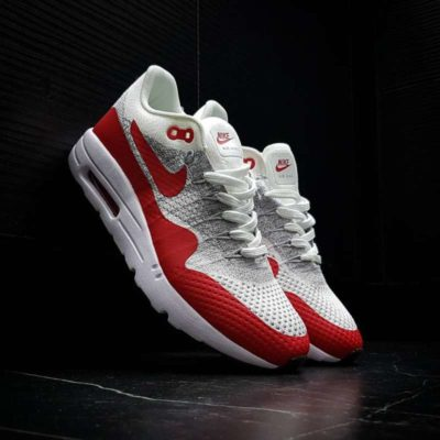 Nike airmax white red