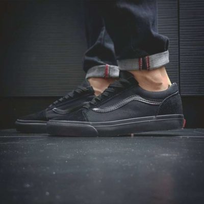 Кроссовки Vans Old Skool black