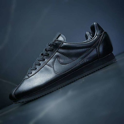 Nike Cortez Classic Leather All Black