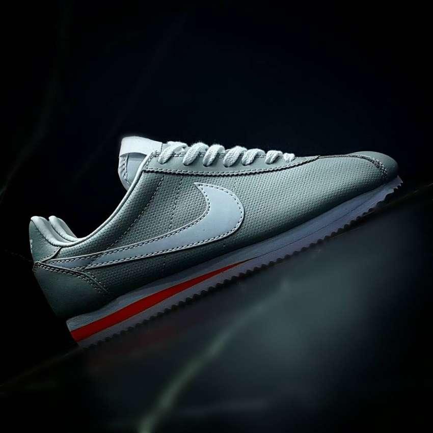 7711e14b Nike Cortez Classic Leather White & Gray | Кроссовки Астана