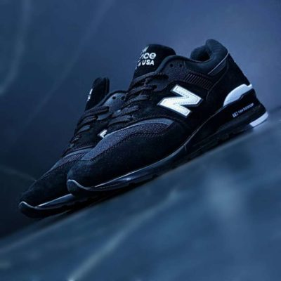 Кроссовки New Balance 997 Black White