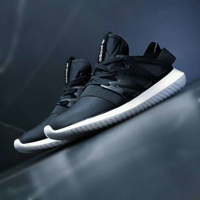 Adidas Tubular Viral black & white