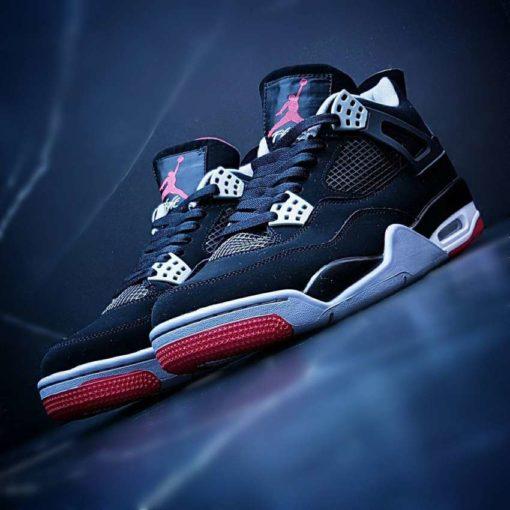 Кроссовки Nike Air Jordan 4 black & white