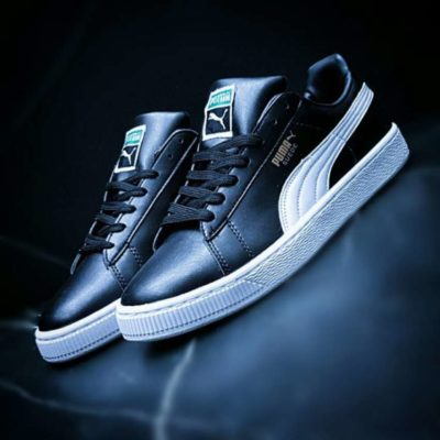 Кроссовки Puma Suede leather BW