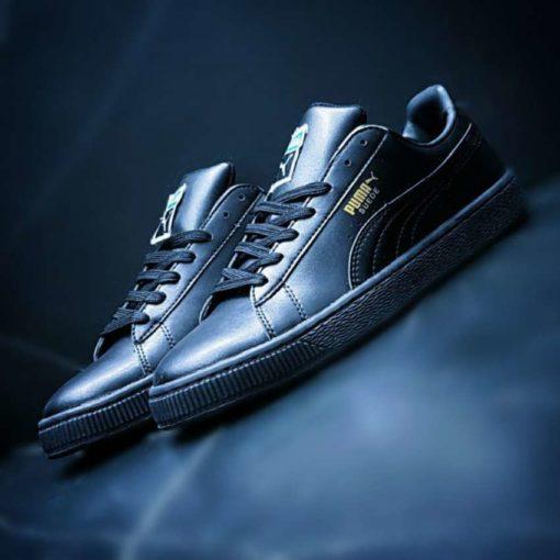 Кроссовки Puma Suede leather Black