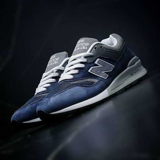 Кроссовки New Balance 997 Blue & White в Астане