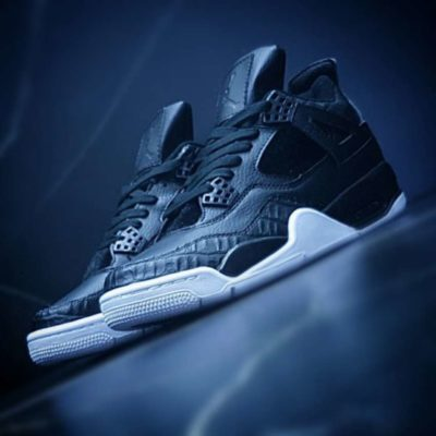 Air Jordan 4 Black & White
