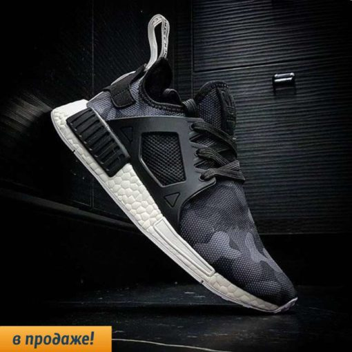 кроссовки ADIDAS NMD RUNNER XR1 black and white