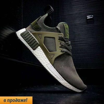 кроссовки ADIDAS NMD RUNNER XR1 green2