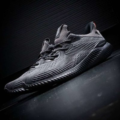 Кроссовки Adidas ALPHABOUNCE ENGINEERED MESH Black