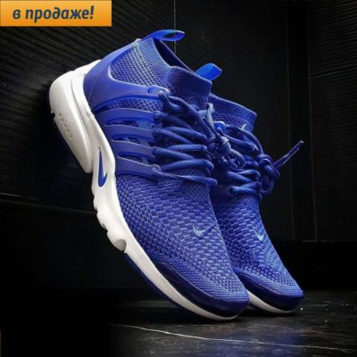 NIKE AIR PRESTO ULTRA FLYKNIT blue