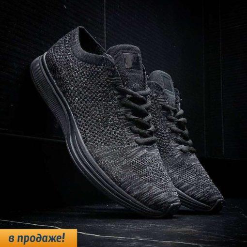 кроссовки Nike Flyknit Racer Black